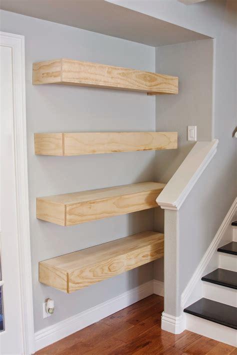 Easy-Floating-Shelves-Diy