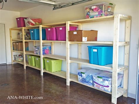 Easy-Garage-Shelf-Plans