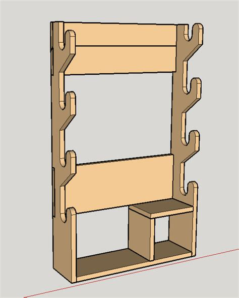 Easy-Gun-Rack-Plans