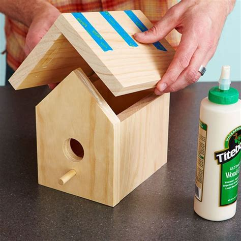 Easy-One-Board-Birdhouse-Plans