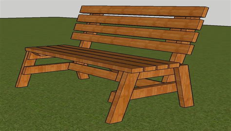 Easy-Park-Bench-Plans
