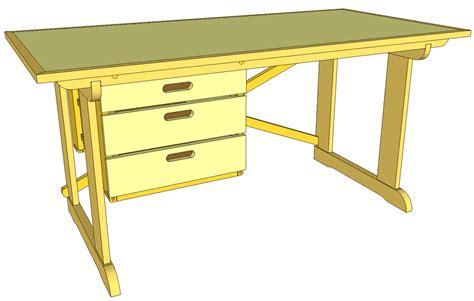 Easy-Student-Desk-Plans