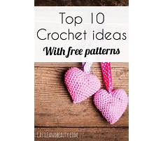 Best Easy crochet ideas for gifts