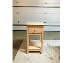 Best Easy night stand wood plans