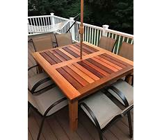 Best Easy patio bench plans