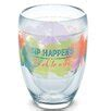 Eat Drink Be Merry Sip Happens 9 Oz. Stemless Wine Glass