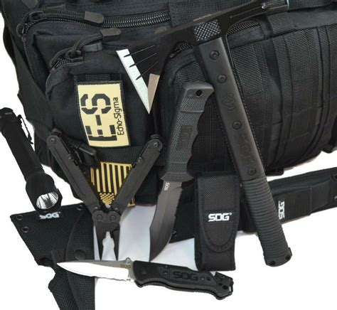 Echo-Sigma Bug Out Bag Sog Special Edition.