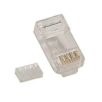 Eclipse Tools CAT6-100 CAT 6 Modular Plug, RJ45