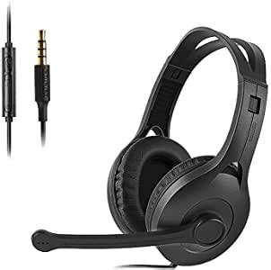 Edifier High End Computer Headset PC Gaming Headset with Microphone Single Black