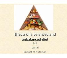 Best Effects of an unbalanced diet on babies