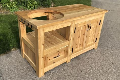 Egg Grill Table Plans
