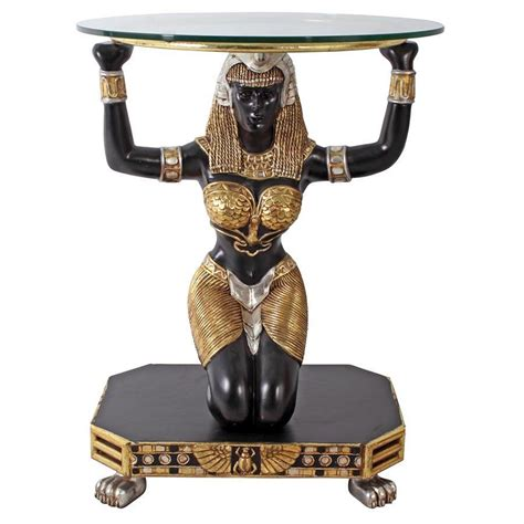 Egyptian Goddess Maat Console Table