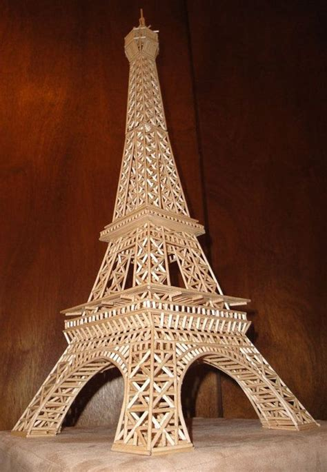 Eiffel Tower Wood Plans