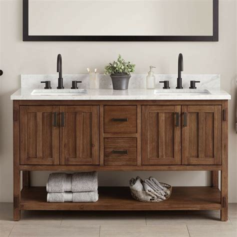 Eilis 61 Double Bathroom Vanity Set