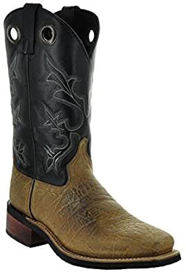 El Dorado Men's Western Square Toe Boots by H3004