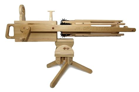Elastic Band Gatling Gun Plans