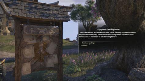 Elder-Scrolls-Online-Woodworking-Writ