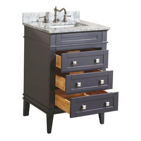 Cheap Eleanor 24 Single Bathroom Vanity Set By Kitchen Bath ...