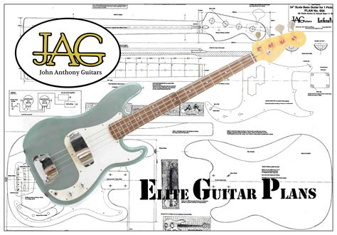 Electric Bass Guitar Plans
