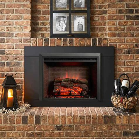 Electric Fireplace Insert Plans