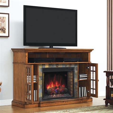 Electric Fireplace Insert Tv Stand Without The Fireplace