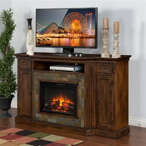 Electric Fireplace Mantels For Television