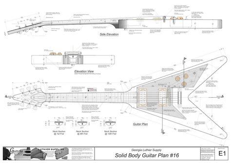 Electric-Guitar-Building-Plans