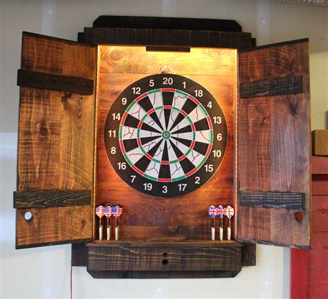 Electronic Dartboard Cabinet Plans