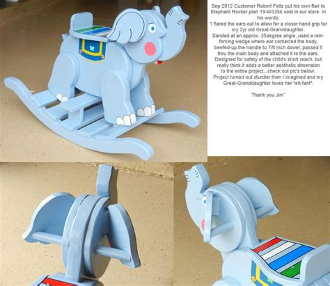 Elephant Wooden Rocker Plans