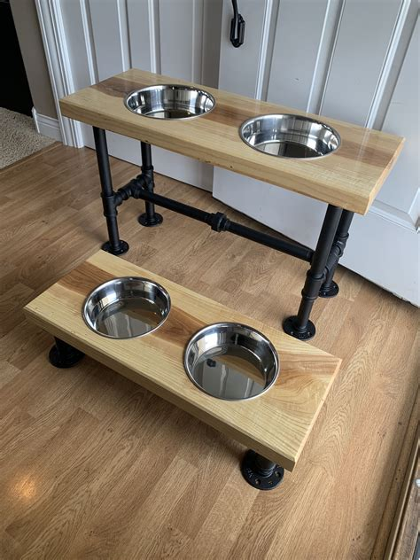 Elevated Dog Bowls Diy