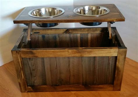 Elevated Dog Feeder Woodworking Plans