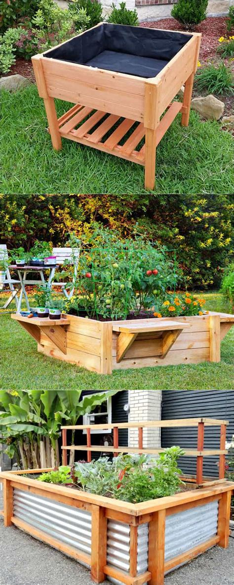 Elevated Garden Beds Diy Videos