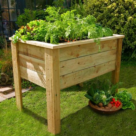 Elevated Planter Bed Plans