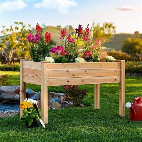 Elevated Planter Box Plans Free