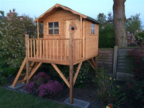 Elevated Playhouse Plans Without A Tree