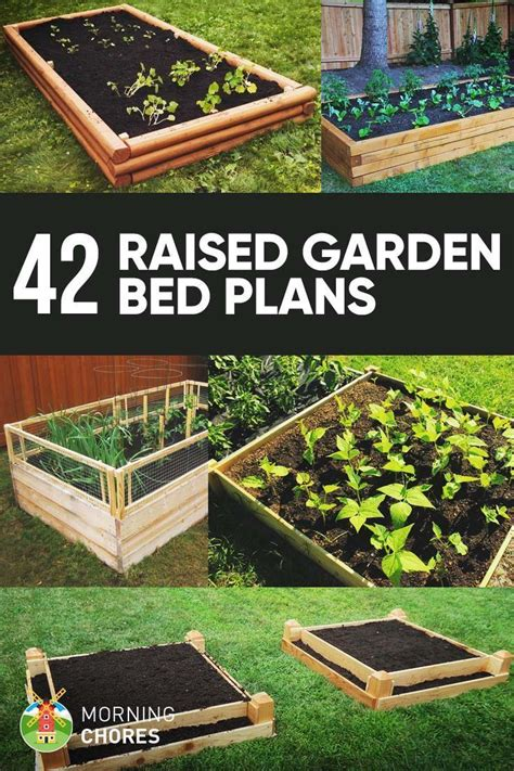 Elevated Raised Garden Bed Diy Plans