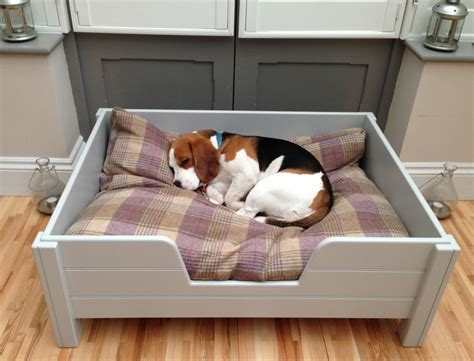 Elevated Wooden Dog Bed Diy With Stairs