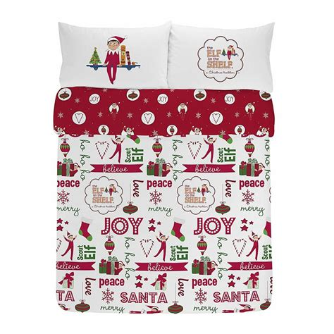 Elf On The Shelf Bedding