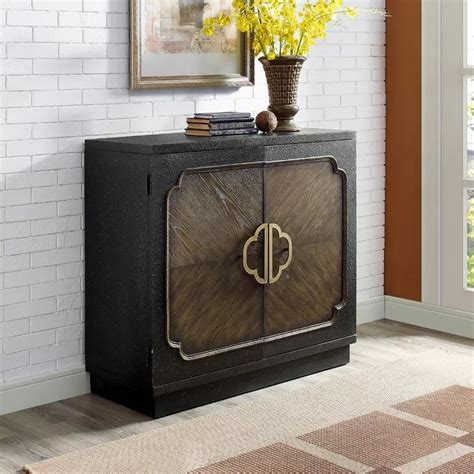 Eli Traditional Heavily Distressed 2 Door Accent Cabinet By Bloomsbury Market
