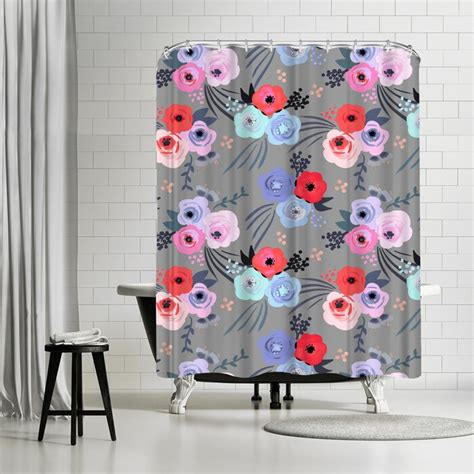 Emanuela Carratoni Handmade Garden Shower Curtain