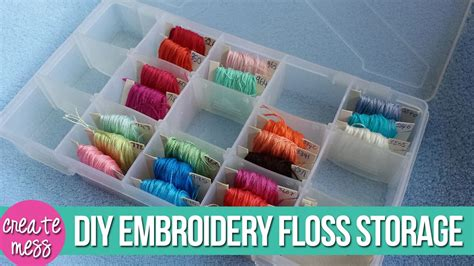 Embroidery Floss Storage Diy Couch