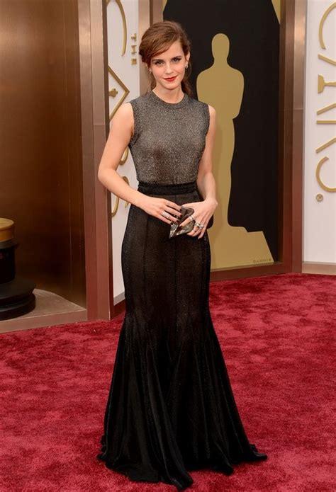 Emma Watson Metallic Dress