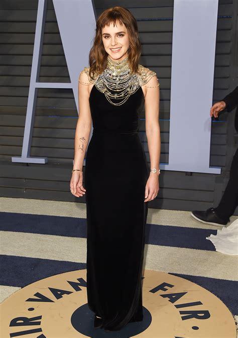 Emma Watson Oscars New Ink