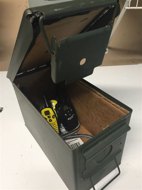 Emp Faraday Cage Ammo Can And Fat 50 Ammo Can