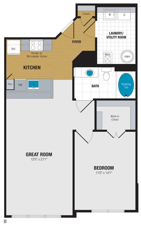 Enclave At Box Hill Floor Plans