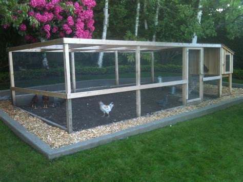 Enclosed Chicken Run Plans For Large