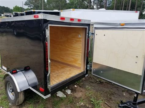 Enclosed Trailer Plans For Sale