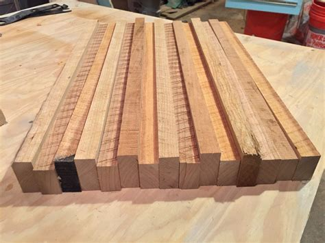 End Grain Cherry Cutting Board Plans
