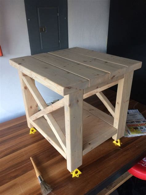 End Grain Table Diy Farmhouse