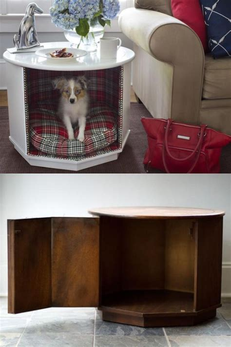 End Table Dog Bed Diy